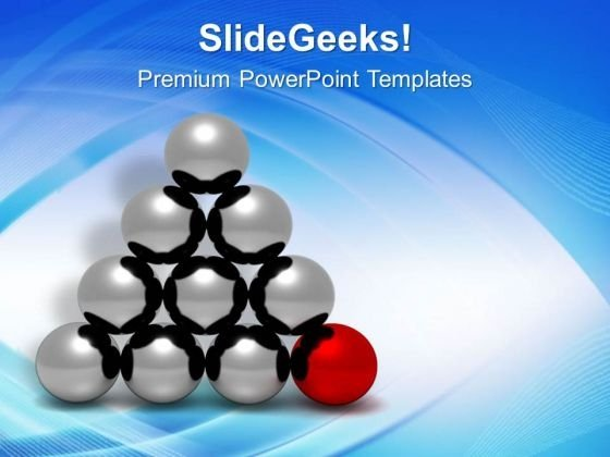 Be The Base Of Your Team PowerPoint Templates Ppt Backgrounds For Slides 0613