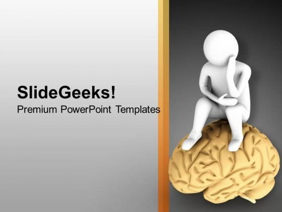 Be Thoughtful For Successful PowerPoint Templates Ppt Backgrounds For Slides 0613