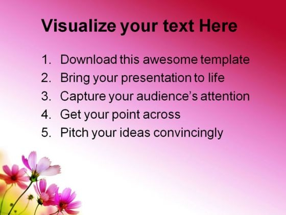 beautiful_pink_flowers_beauty_powerpoint_themes_and_powerpoint_slides_0411_text