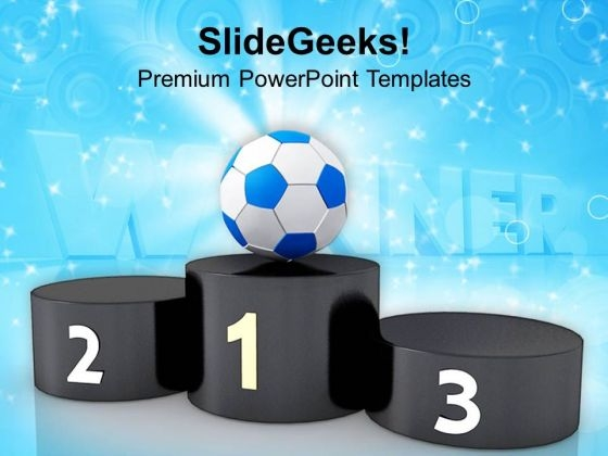 Become The First One In Game PowerPoint Templates Ppt Backgrounds For Slides 0513