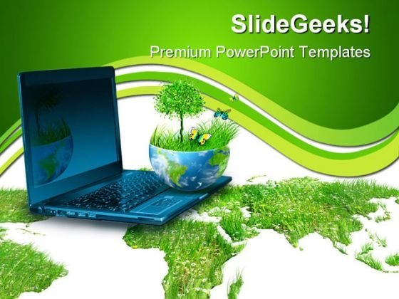 Best Concept Of Global Environment Computer PowerPoint Templates And PowerPoint Backgrounds 0211