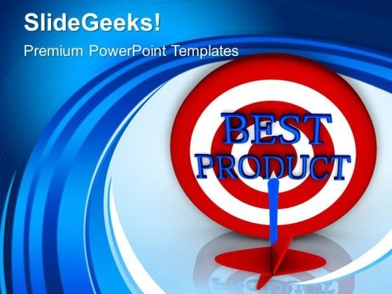 Best Product Targets PowerPoint Templates And PowerPoint Themes 1012
