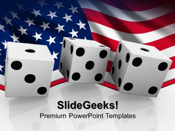 Betting On The Us Business PowerPoint Templates And PowerPoint Themes 0812
