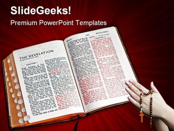 Bible A Glow Religion PowerPoint Templates And PowerPoint Backgrounds 0211