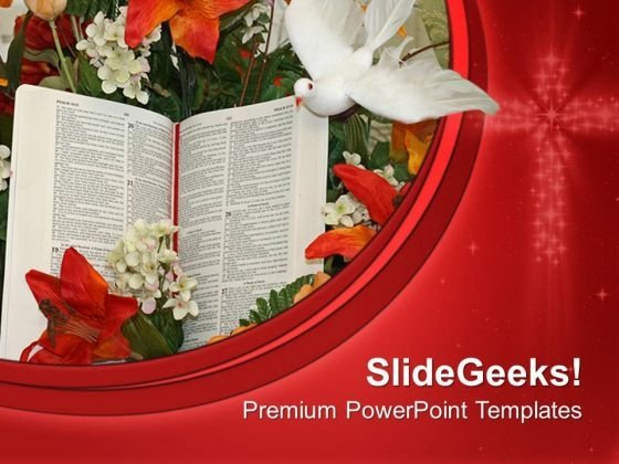 Bible And Dove Church PowerPoint Templates And PowerPoint Themes 0712