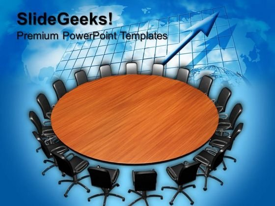 Big Conference Meeting Business PowerPoint Templates And PowerPoint Themes 0712