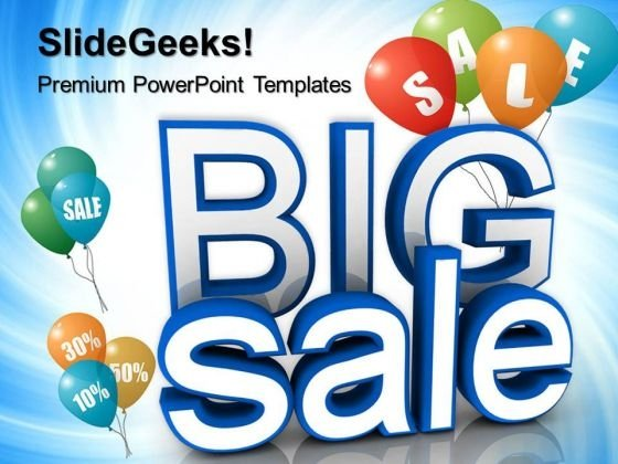 Big Sale Advertising Lifestyle PowerPoint Templates And PowerPoint Themes 0712