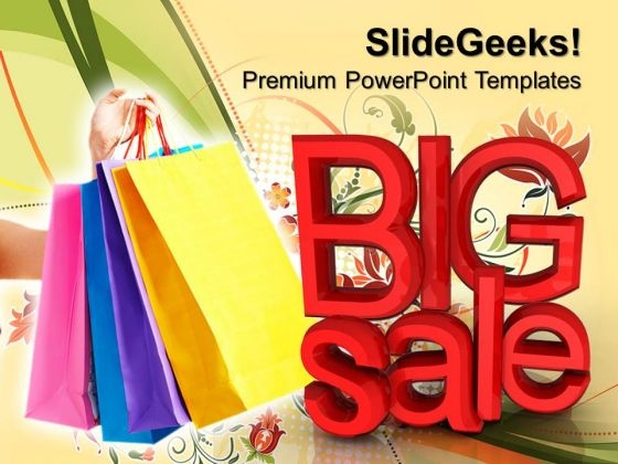 Big Shopping Sale Fashion PowerPoint Templates And PowerPoint Themes 0812