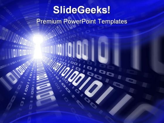 Digital powerpoint templates slides and graphics binary internet security powerpoint template 1110 toneelgroepblik Images
