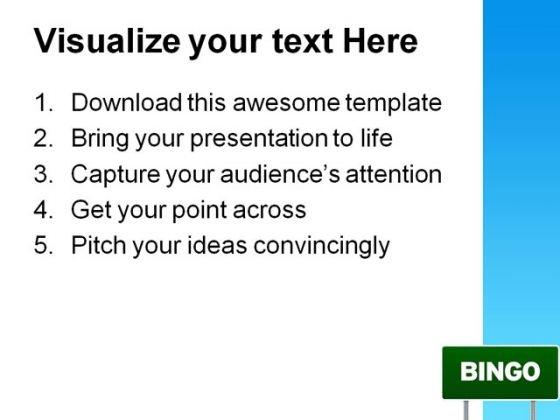 bingo_highway_signpost_metaphor_powerpoint_themes_and_powerpoint_slides_0811_print