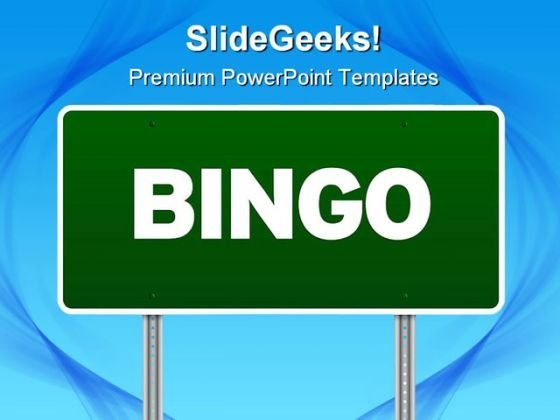 bingo powerpoint templates, slides and graphics, Modern powerpoint