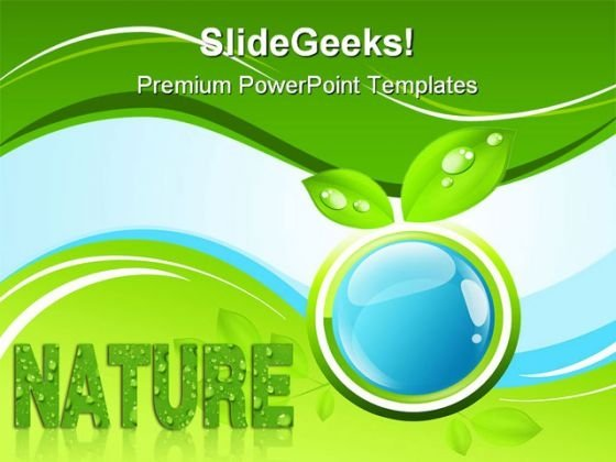 Bio Nature Global PowerPoint Templates And PowerPoint Backgrounds 0511