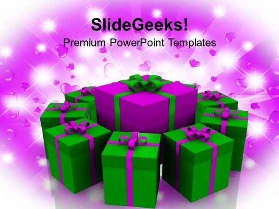 Birthday Gift Celebration Events PowerPoint Templates Ppt Backgrounds For Slides 1112