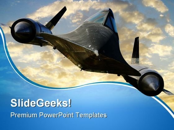 aircraft powerpoint templates slides and graphics