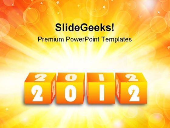 Blocks 2012 Background PowerPoint Templates And PowerPoint Backgrounds 1211