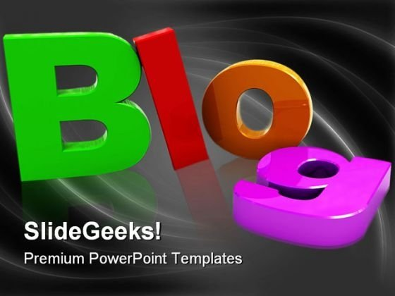 Blog Internet PowerPoint Templates And PowerPoint Backgrounds 0211