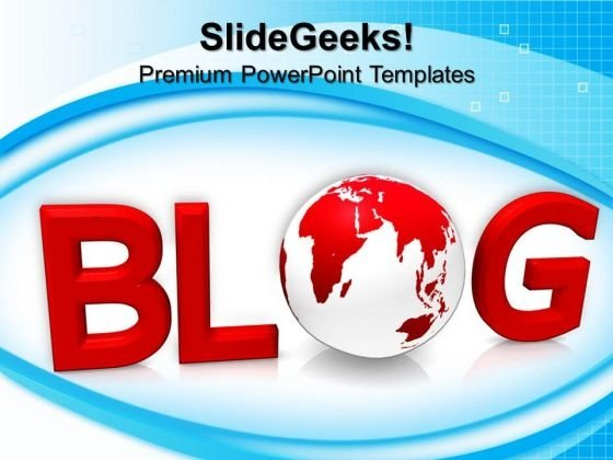 Blog Internet PowerPoint Templates And PowerPoint Themes 0612