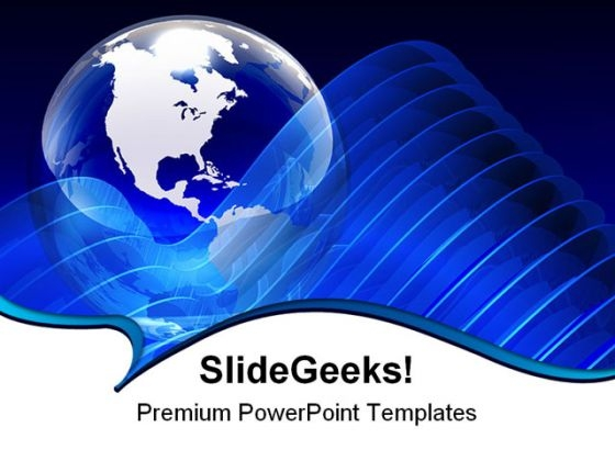 Blue Globe01 Abstract PowerPoint Themes And PowerPoint Slides 0311