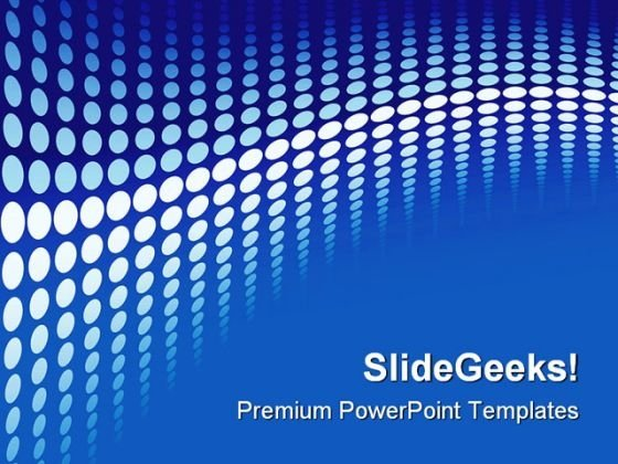 Blue Halftone Background PowerPoint Templates And PowerPoint Backgrounds 0511