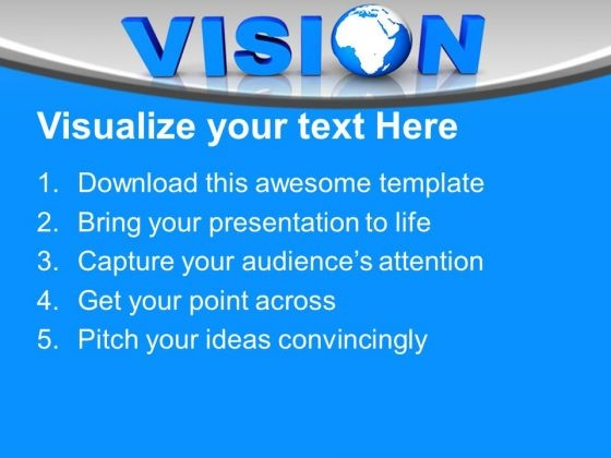 Blue letter vision with globe business powerpoint templates ppt bluelettervisionwithglobebusinesspowerpointtemplatespptbackgroundsforslides1112text toneelgroepblik Gallery