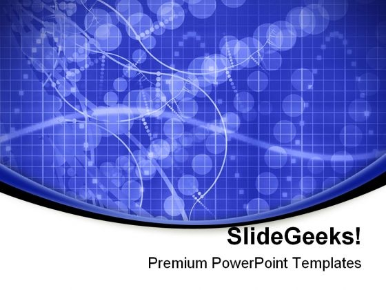 Blue Medical Science Background PowerPoint Templates And PowerPoint Backgrounds 0611