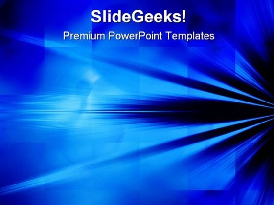 Blue Rays Of Light Background PowerPoint Themes And PowerPoint Slides 0511