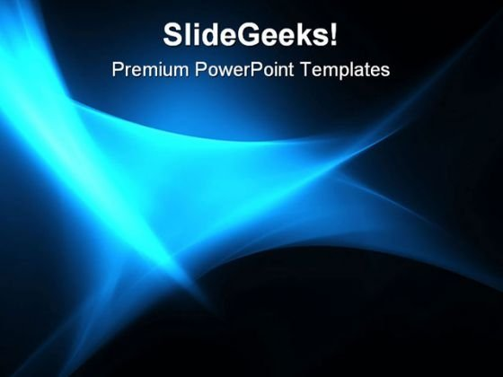 Blue Waves Abstract PowerPoint Templates And PowerPoint Backgrounds 0511