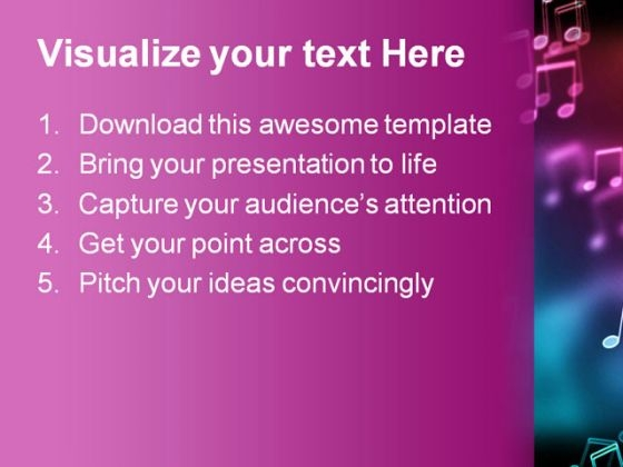bokeh_effect_music_powerpoint_template_0610_text