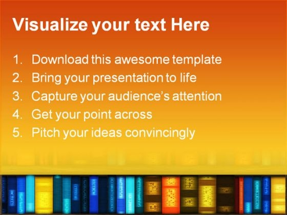 book_case_education_powerpoint_template_1110_text