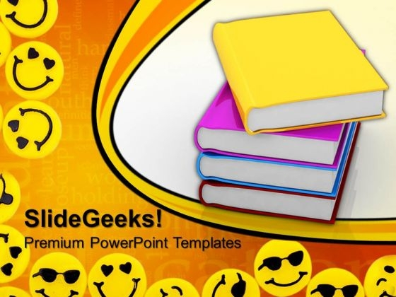 Books Education PowerPoint Templates And PowerPoint Themes 0812