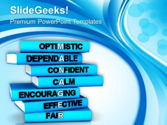 Books On Leadership Skils PowerPoint Templates Ppt Backgrounds For