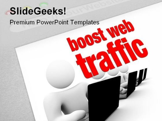 Boost Web Traffic Internet PowerPoint Themes And PowerPoint Slides 0511