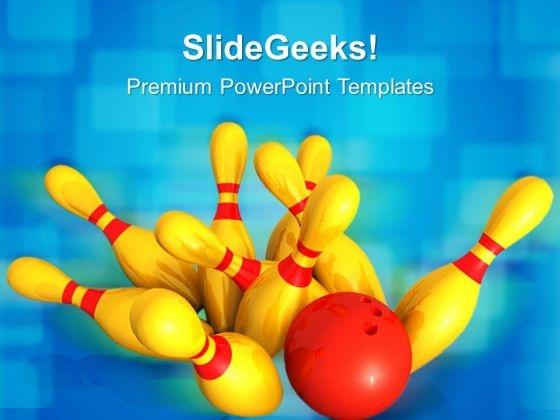 Bowling01 Game PowerPoint Templates And PowerPoint Themes 0512