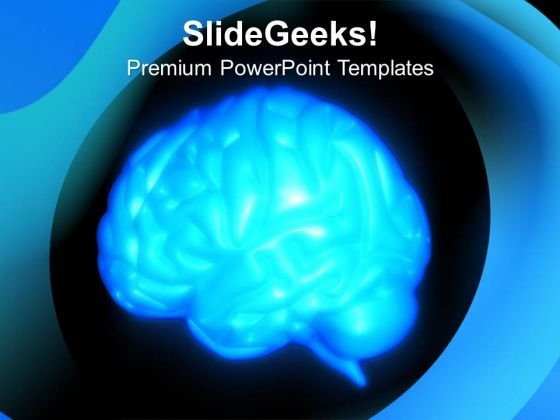 Brain Human Anatomy PowerPoint Templates Ppt Backgrounds For Slides 0513