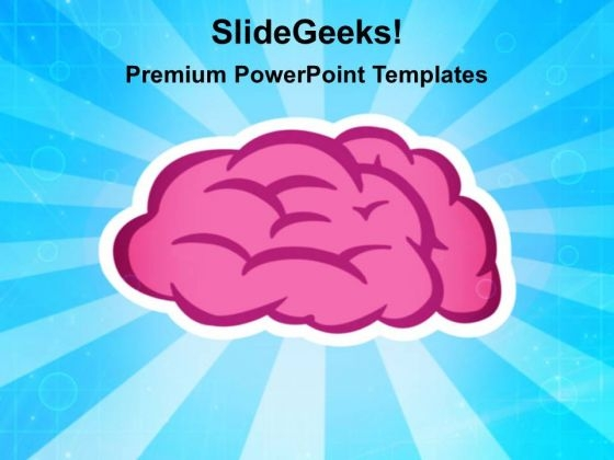 Brain Symbol Science PowerPoint Templates And PowerPoint Themes 0212