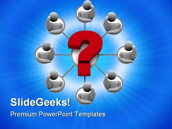 Brainstorming Communication PowerPoint Themes And PowerPoint Slides 0711