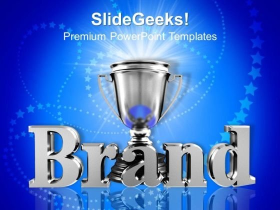 Brand Champion Achievement PowerPoint Templates And PowerPoint Themes 1012