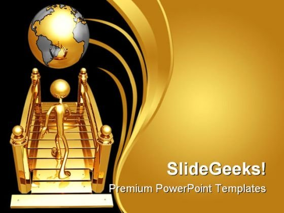 bridge_to_world_business_powerpoint_template_1110_title