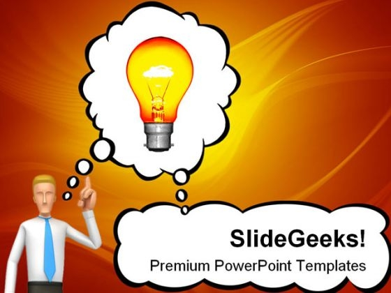 Bright Idea Future PowerPoint Themes And PowerPoint Slides 0211