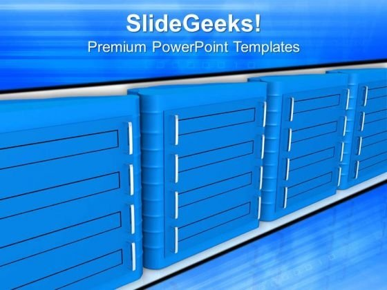 Broader Concept Of Converged Infrastructure PowerPoint Templates Ppt Backgrounds For Slides 0813
