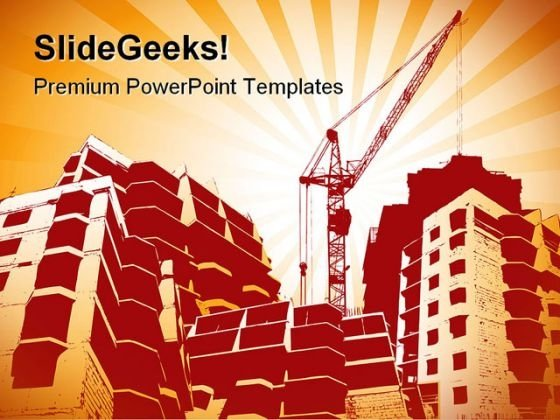 Building Construction PowerPoint Templates And PowerPoint Backgrounds 0311