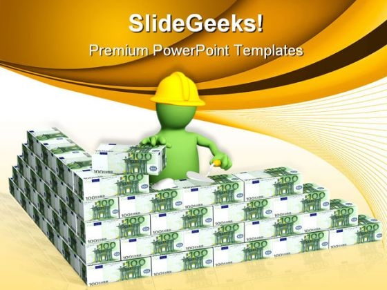 Building Construction PowerPoint Themes And PowerPoint Slides 0511
