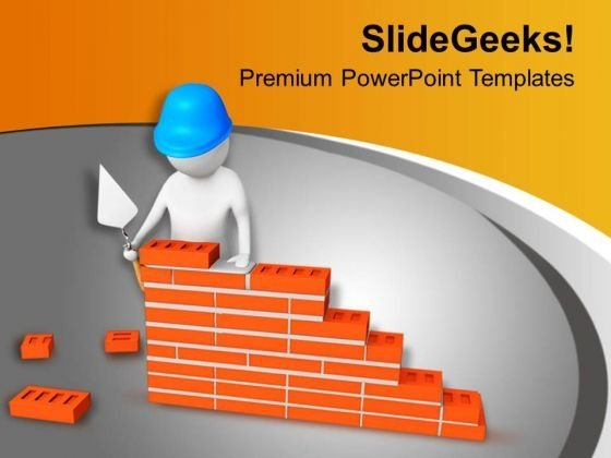 Building Infrastructure Construction Powerpoint Templates