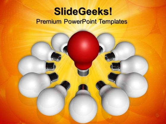 Bulb Technology PowerPoint Templates And PowerPoint Themes 0712