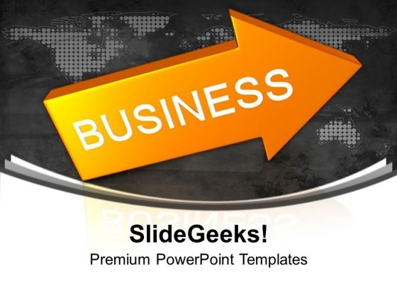 Business Arrow Sales PowerPoint Templates Ppt Backgrounds For Slides 0113