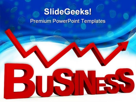 Business Arrow Shapes PowerPoint Themes And PowerPoint Slides 0411