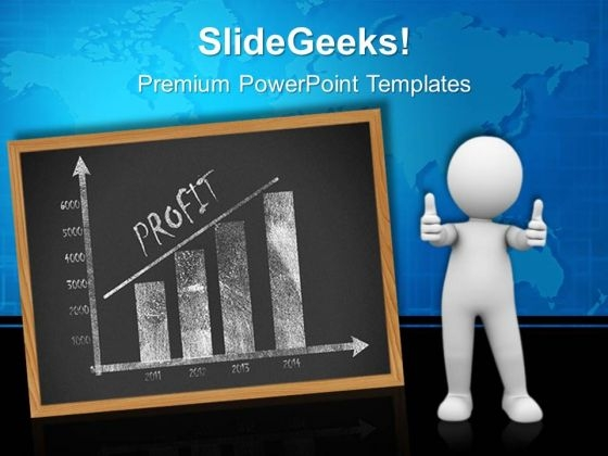 Business Chart Presentation Success PowerPoint Templates And PowerPoint Themes 0312