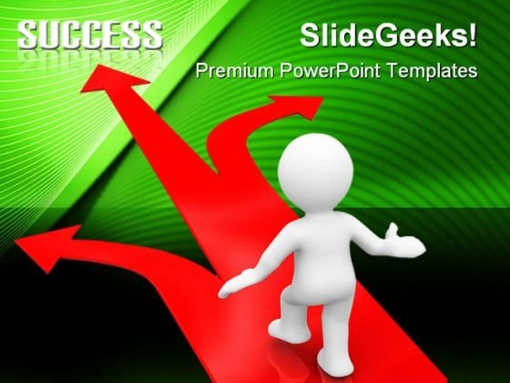 Business Choices Success PowerPoint Templates And PowerPoint Backgrounds 0711