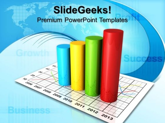 Business Circular Bar Graph Success PowerPoint Templates And PowerPoint Themes 0912