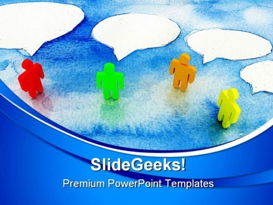 Business Communication Global PowerPoint Templates And PowerPoint Backgrounds 0511